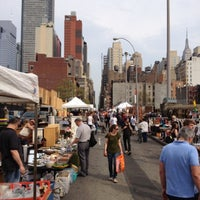 Photo taken at Hell's Kitchen Flea Market by Daniel H. on 4/15/2012