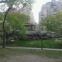 Photo taken at Central Park E 69th entrance by Nataly R. on 4/18/2012