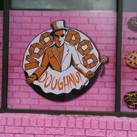 Photo taken at Voodoo Doughnut Too by Laura B. on 8/19/2012