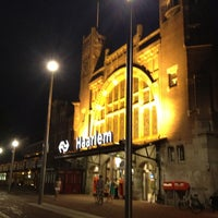 Photo taken at Station Haarlem by Guido L. on 8/19/2012