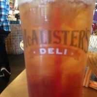 Photo taken at Mcalister's Deli by Steven R. on 5/18/2012