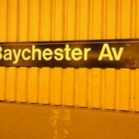 Photo taken at MTA Subway - Baychester Ave (5) by Nigel T. on 4/17/2012