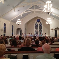 Photo taken at St. Christopher's Episcopal Church by Joseph S. on 7/11/2012