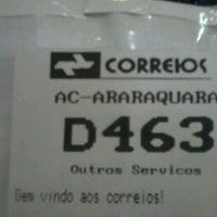 Photo taken at Correios by Lucas B. on 5/14/2012