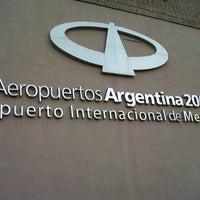 Foto tomada en Aeropuerto Internacional de Mendoza - Gobernador Francisco Gabrielli (El Plumerillo) (MDZ) por Lore el 8/20/2012