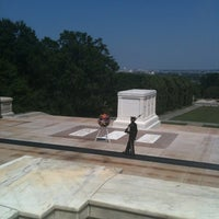 Photo taken at Tomb of the Unknowns by Levi R. on 7/6/2012