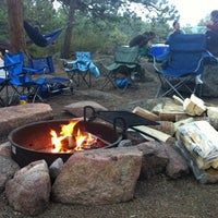 Photo taken at Moraine Park Campground by Major on 9/1/2012