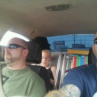 Photo taken at stuck in beach traffic by Chris E. on 8/25/2012