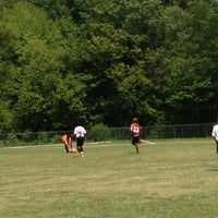 Photo taken at McCurry Park Sports Trail by Claire M. on 4/15/2012