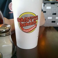 Photo taken at Graffiti Burger by Christoph R. on 4/9/2012