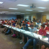 Photo taken at Hixson-Lied Student Success Center by Easten on 9/4/2012