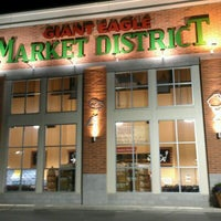 Photo taken at Market District Supermarket by Nate M. on 5/6/2012