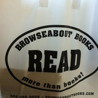 Photo taken at Browseabout Books by Lauren H. on 4/7/2012