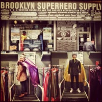 Photo taken at Brooklyn Superhero Supply Co. by April Joy C. on 3/4/2012
