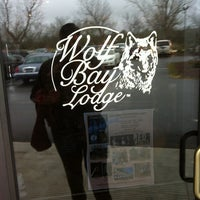 Photo taken at Wolf Bay Lodge by Dougal C. on 2/18/2012