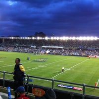 Photo taken at Pirtek Stadium by Nic S. on 8/11/2012