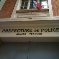 Photo taken at Service des Objets Trouvés by Vasken M. on 7/18/2012