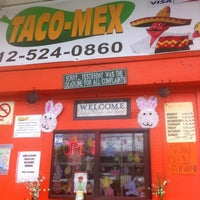 Photo taken at Taco-Mex by Rupert R. on 3/29/2012