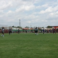 Photo taken at Canchas UPAEP by Estefania on 9/6/2012