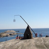 Photo taken at Restaurant Verdens Ende by Miriam E H J. on 5/27/2012
