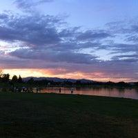 Photo taken at Lake Balboa Park by Jerry S. on 9/4/2012