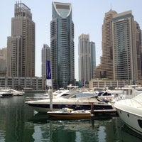 Photo taken at Dubai Marina Walk by Bassem Z. on 7/27/2012