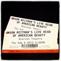 Photo taken at Ryerson Theatre by Bec on 9/7/2012