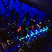 Photo taken at Space Mountain by hi on 3/12/2012