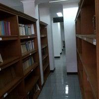 Photo taken at Perpustakaan Museum Geologi Bandung by Dimas T. on 7/3/2012
