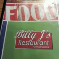 Photo taken at Billy J's Restuarant by Nora M. on 8/5/2012