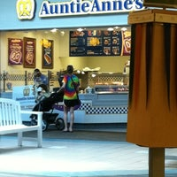 Photo taken at Auntie Anne's by Bobby W. on 4/30/2012