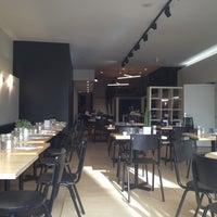 Photo taken at Basilic Café by Candice M. on 8/18/2012