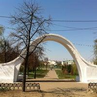 Photo taken at Парк «Чёрное озеро» by Garay T. on 2/2/2012
