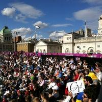 Photo taken at London 2012 Horse Guards Parade by sherahViVa™ on 8/16/2012