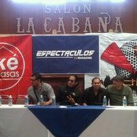 Photo taken at Salon La Cabaña by Serch on 7/26/2012
