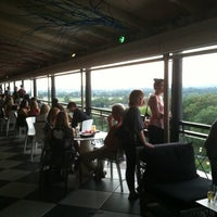 Photo taken at P.O.V. Rooftop Lounge and Terrace by Danny M. on 9/1/2012