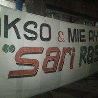 "Photo taken at Baso Daging Sapi ""Sari Rasa"" Pak Rudi by Nu Z. on 8/22/2012"