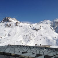 Photo taken at Tignes by Tom Y. on 3/4/2012