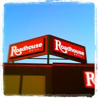 Photo taken at Roadhouse Grill by Michele T. on 7/5/2012