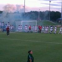 Photo taken at Corbett Soccer Stadium by Melissa E. on 8/17/2012