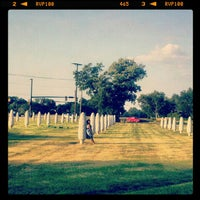 Photo taken at Field of Corn (with Osage Orange Trees) by Malcolm Cochran by Nikki R. on 6/19/2012