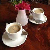 Photo taken at Art Cafe Hemingway by Jeremy H. on 4/24/2012