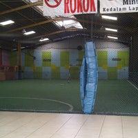 Photo taken at Pro Futsal - Pluit by Novel H. on 7/6/2012