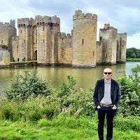 Photo taken at Bodiam Castle by Dan M. on 7/7/2012
