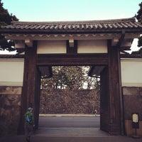 Photo taken at Sakuradamon Gate by . ♻. on 3/11/2012