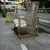 Photo taken at 「雨に消える椅子」 -Chair disappears in the rain- by nama e. on 9/13/2012