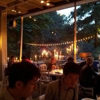 Photo taken at Café am Neuen See by Hanna C. on 9/2/2012