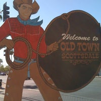 Photo taken at Old Town Scottsdale by roxanne on 2/26/2012