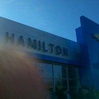 Photo taken at Hamilton Chevrolet by Henry B. on 2/6/2012