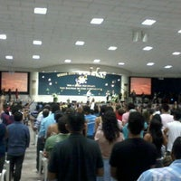 Photo taken at Igreja da Paz by Daniel N. on 6/10/2012